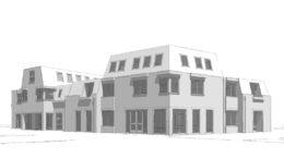 Transformatie kantoorruimte naar appartementen